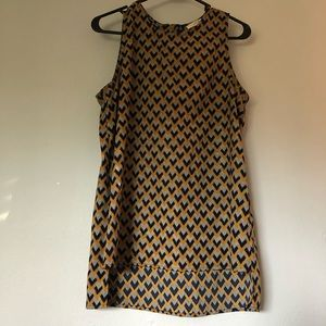 Le Lis hi-lo tank blouse size medium